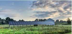 Penn State turns to renewable solar for cheap electricity.