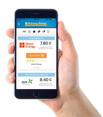 PA Energy Rates App